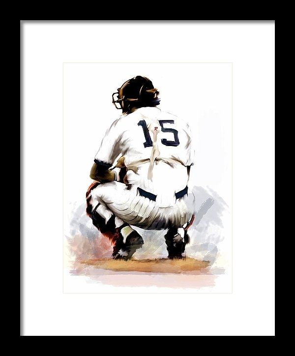 Iconic Images Art Gallery David Pucciarelli - The Captain  Thurman Muns... Print