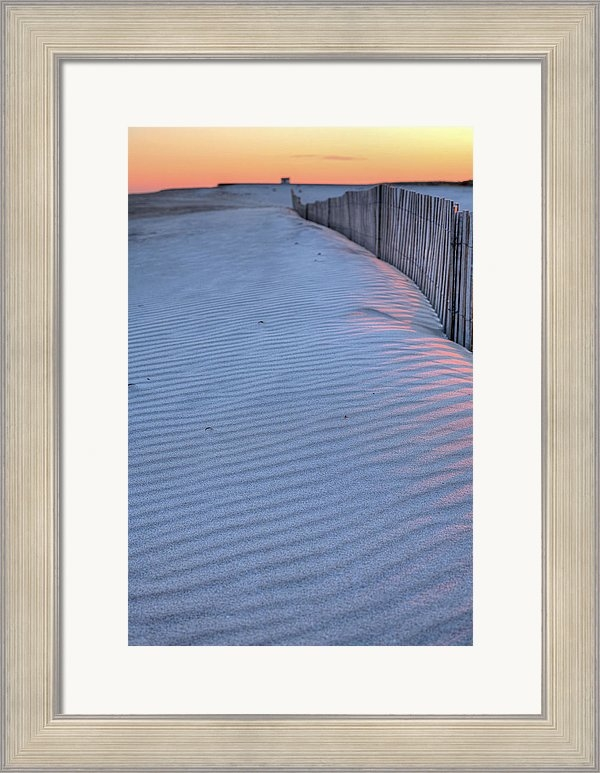 JC Findley - Where the Boardwalk Ends Print