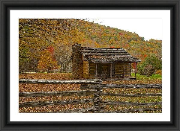 Mike Yeatts - Mountain Cabin Print