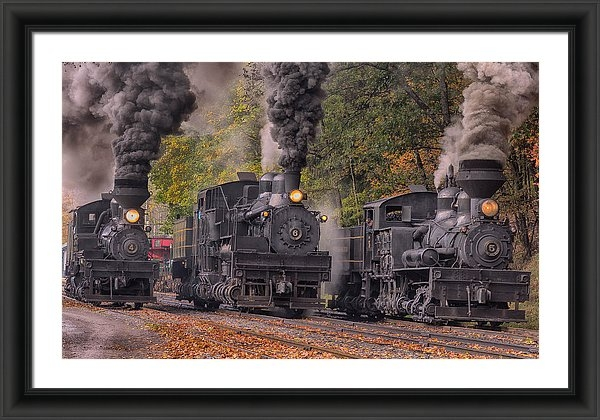 Mike Yeatts - The Power of Steam  Print