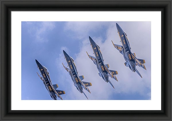 Mike Yeatts - Formation Flight  Print