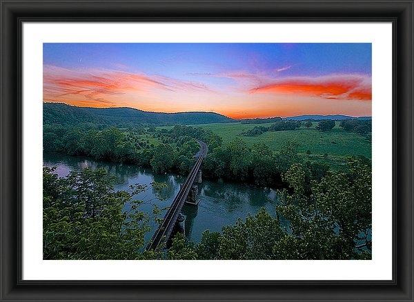 Mike Yeatts - Appalachian Sunset Print