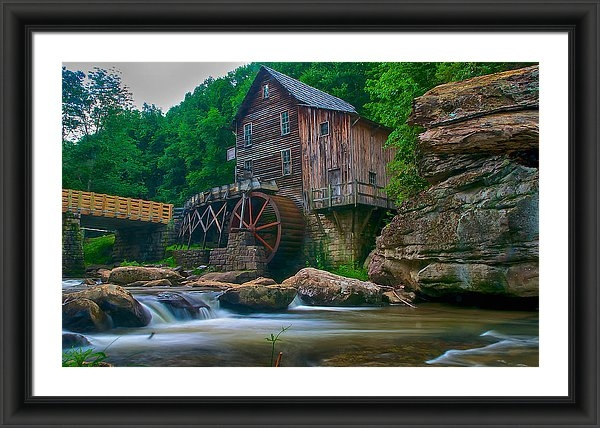 Mike Yeatts - Just an Old Mill Print