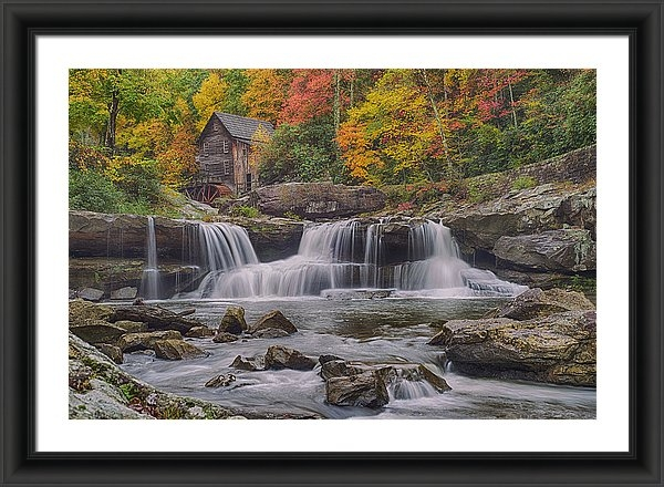 Mike Yeatts - Glade Creek Grist Mill Print