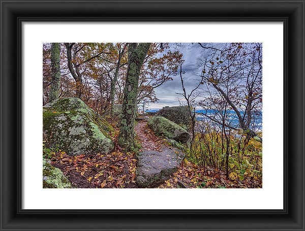 Mike Yeatts - Late Fall at Thunder Ridg... Print