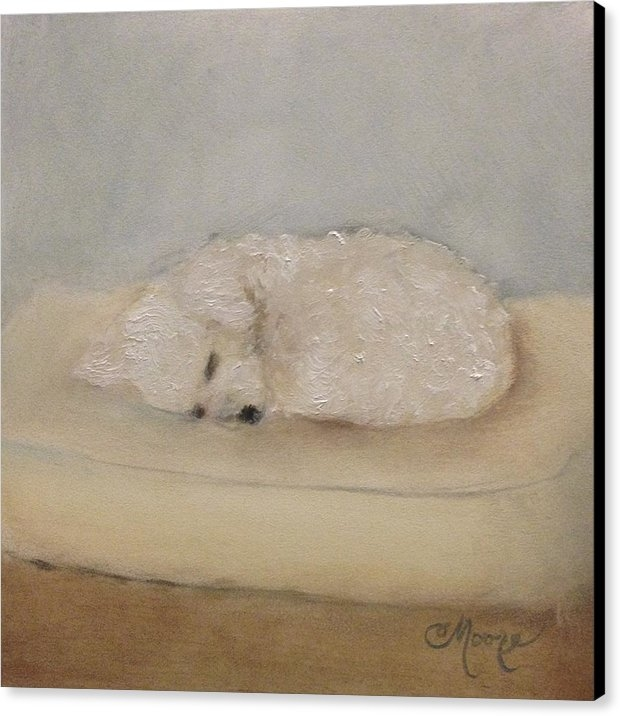 Camille Moore - Asleep on Her Tuffet Print