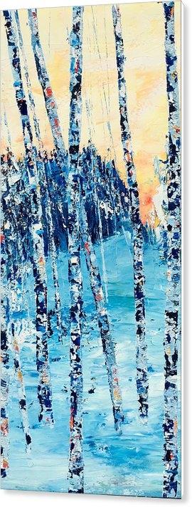 Julia S Powell - Birch Series 6 Detail 1 Print