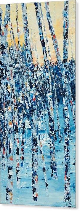 Julia S Powell - Birch Series 6 Detail 2 Print