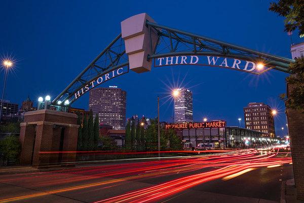 Steve Gadomski - Historic Third Ward Milwa... Print