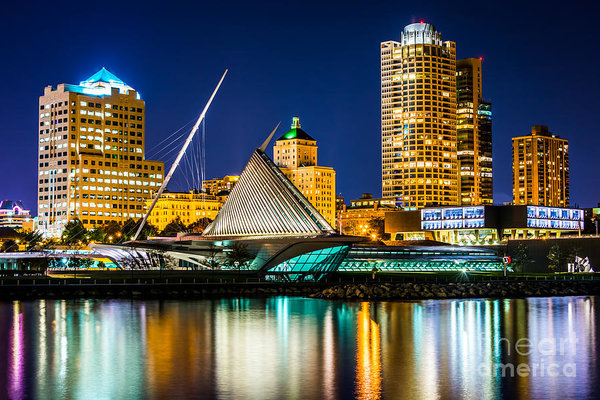 Paul Velgos - Picture of Milwaukee Skyl... Print