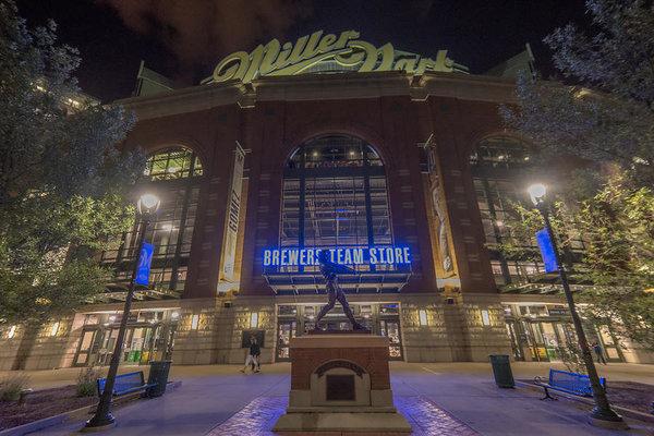 David Haskett - Milwaukee Brewers Miller ... Print