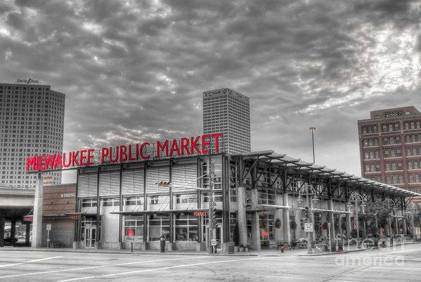 Steve Sturgill - 0038 Milwaukee Public Mar... Print