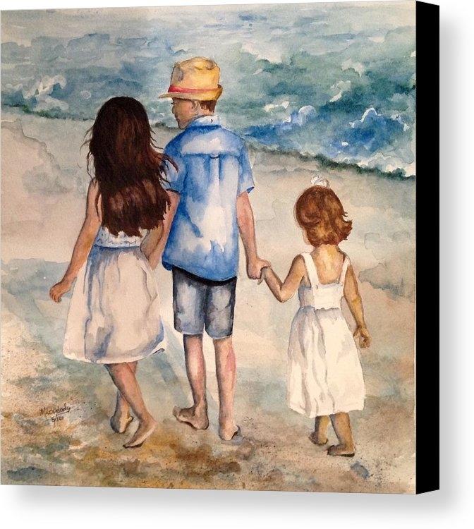 Marsha Lovelady - Day at the Beach Print