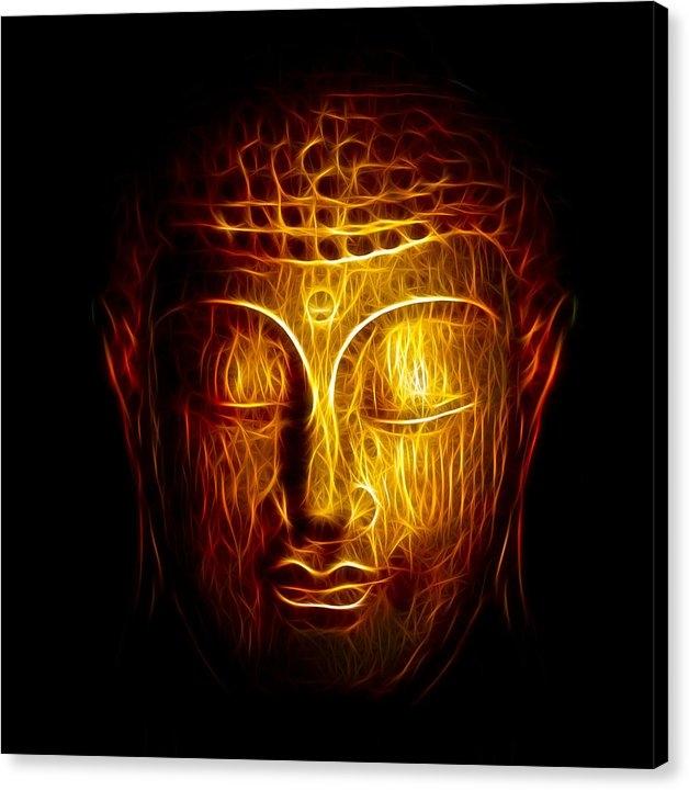 Adam Romanowicz - Golden Buddha Abstract Print