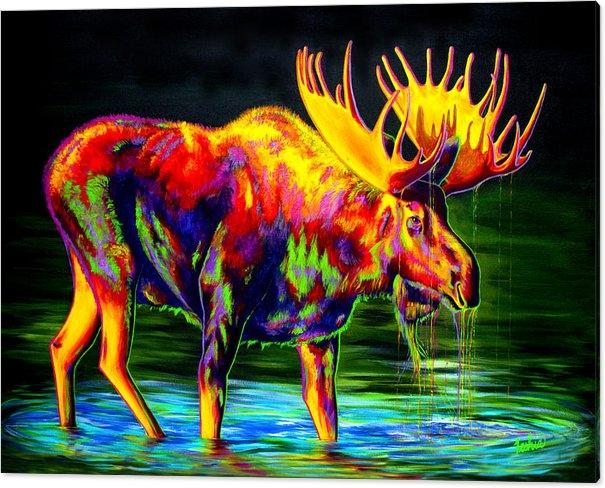 Teshia Art - Motley Moose Print