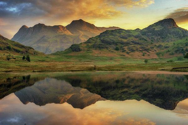 James Billings - Reflected Peaks Print
