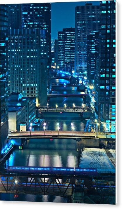 Steve Gadomski - Chicago Bridges Print