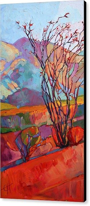 Erin Hanson - Ocotillo Triptych - Left ... Print