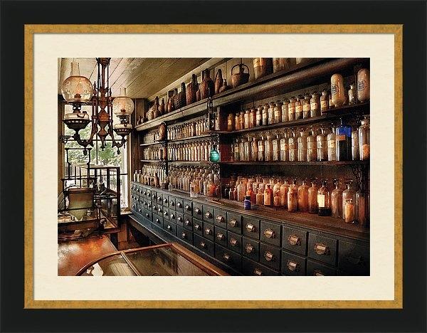 Mike Savad - Pharmacy - So many drawer... Print