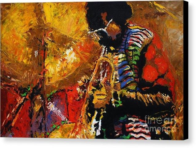 Yuriy  Shevchuk - Jazz Miles Davis 3 Print