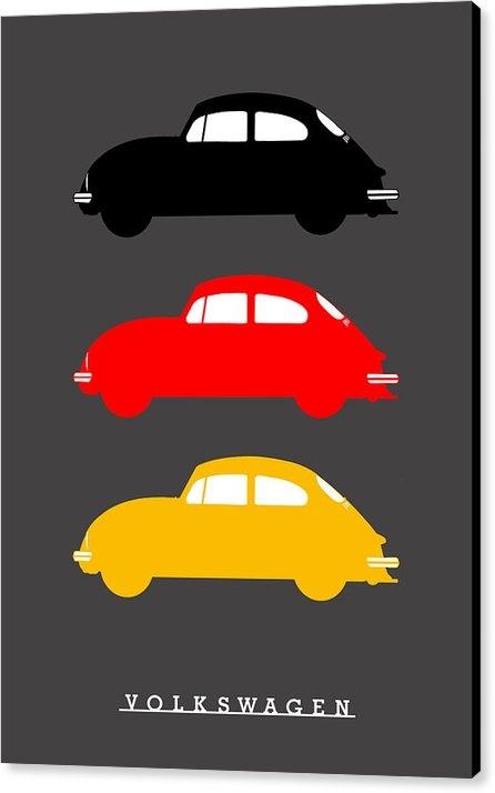Mark Rogan - German Icon - VW Beetle Print