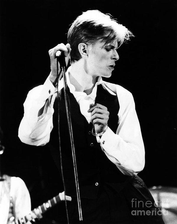 Chris Walter - David Bowie 1976 #2 Print