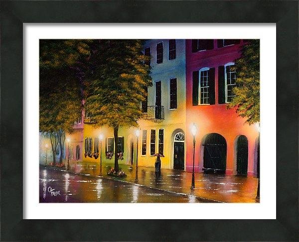Chris Fraser - Rainbow Row Print