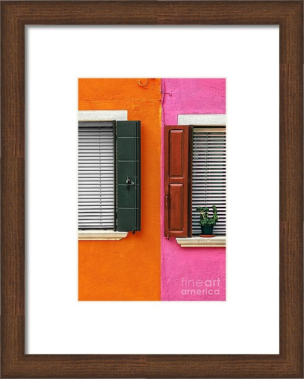 Mike Nellums - Burano 11 Print