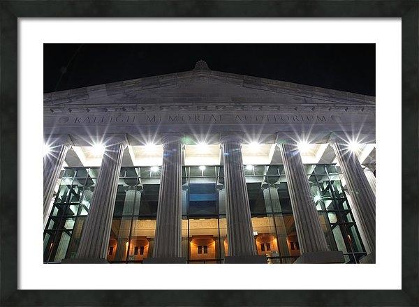 Andrew Nelson - Raleigh Memorial Auditori... Print