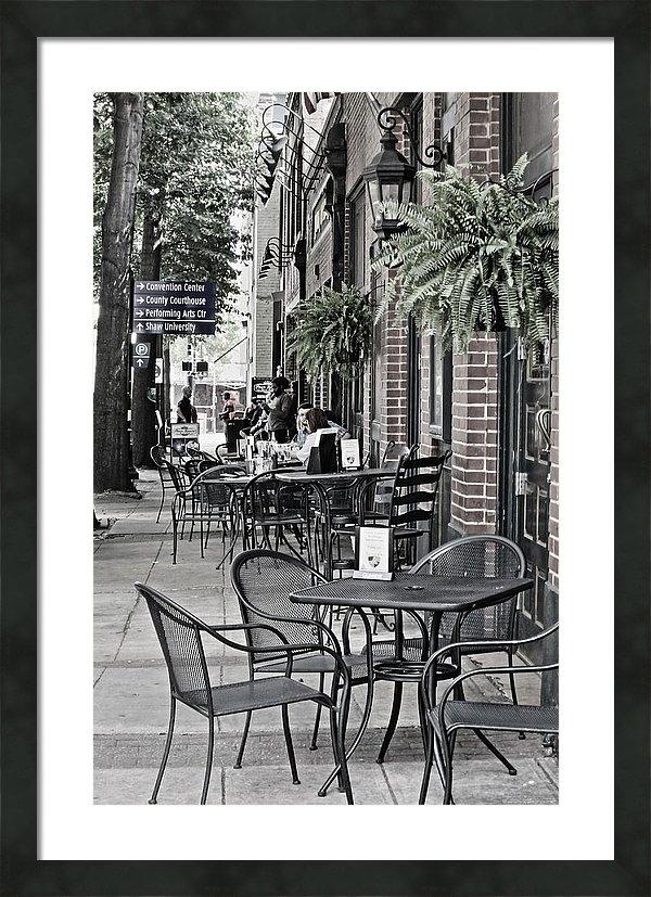 Rene Barger - Raleigh Sidewalk Print