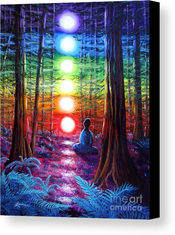 Laura Iverson - Chakra Meditation in the ... Print