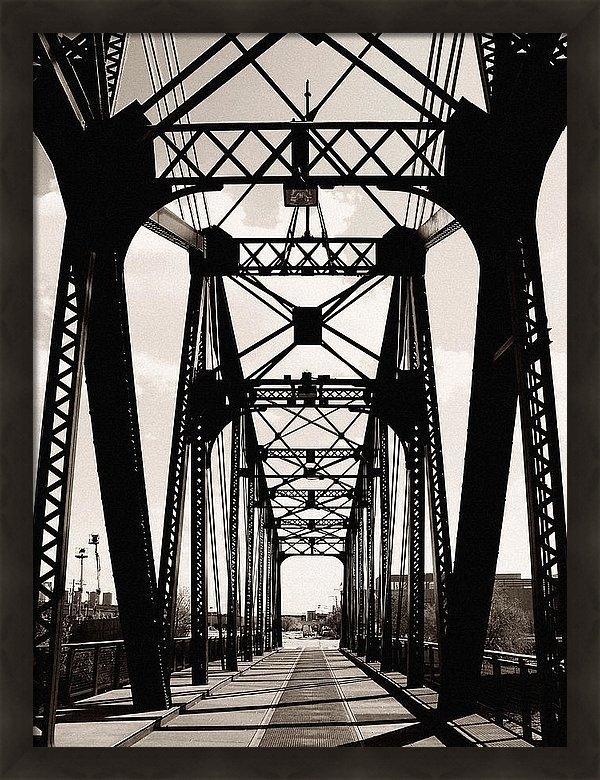 Kyle Hanson - Cherry Avenue Bridge Print