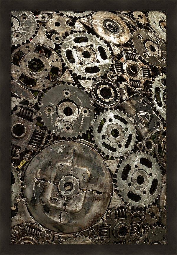 Mark Salamon - Mesh Print