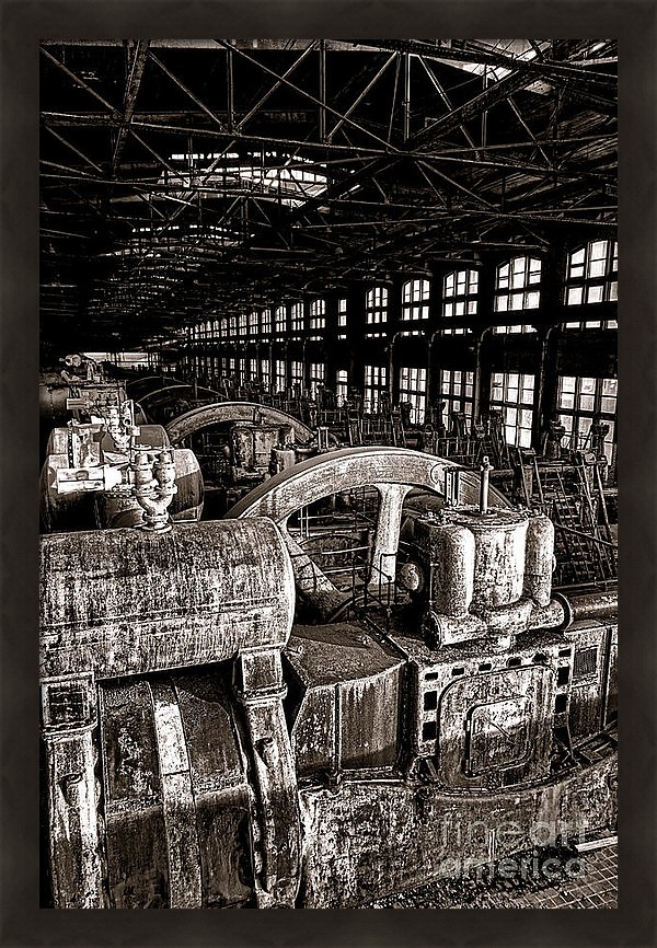 Olivier Le Queinec - The Blower House at Bethl... Print
