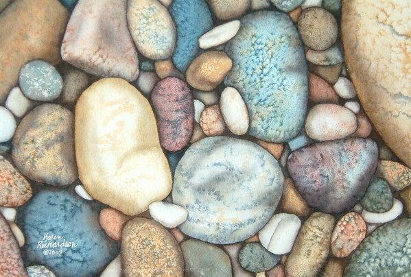 Karen Richardson - Rocks of the Rock Print
