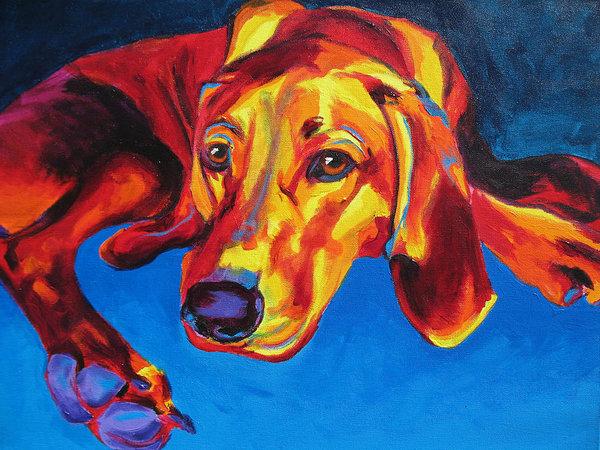 Alicia VanNoy Call - Redbone Coonhound Print