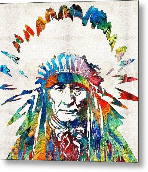 Sharon Cummings - Native American Art - Chi... Print