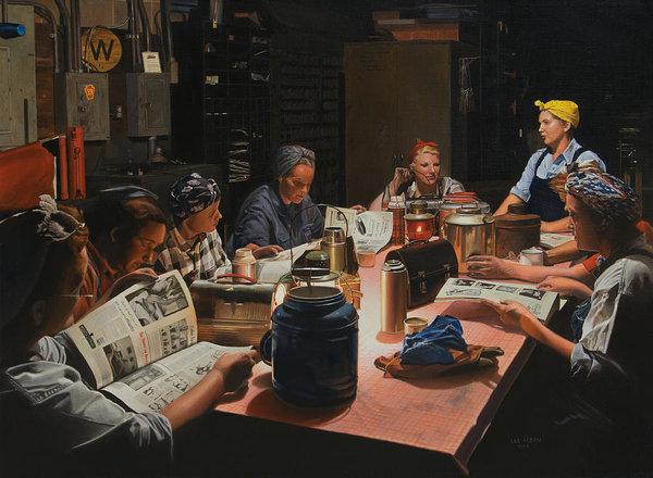 Lee Alban - The Break Room Print