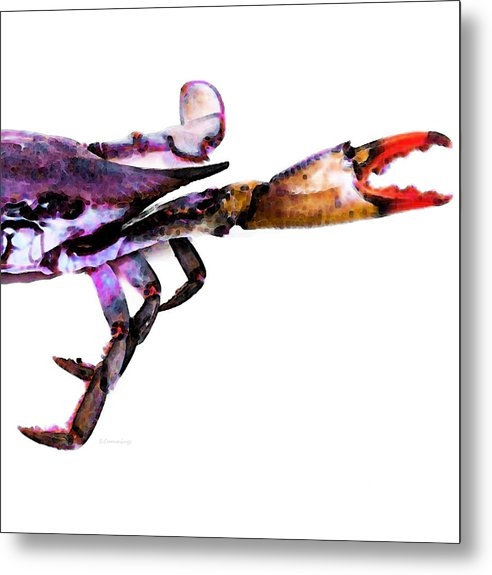 Sharon Cummings - Half Crab - The Right Sid... Print