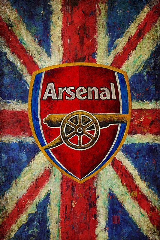 Dan Haraga - Arsenal Football Club Vin... Print