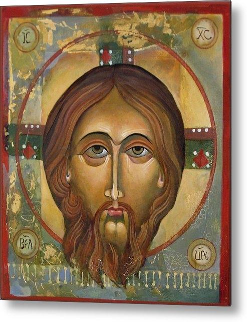 Mary jane Miller - Face of Christ Print