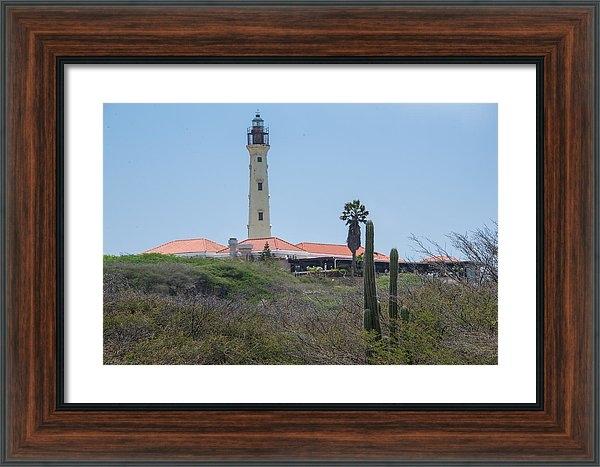 JG Thompson - Aruba California Lighthou... Print