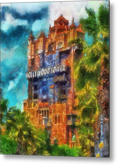 Thomas Woolworth - Hollywood Tower Hotel WDW... Print