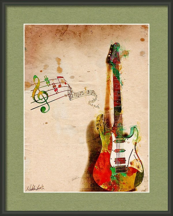 Nikki Smith - My Guitar Can SING Print