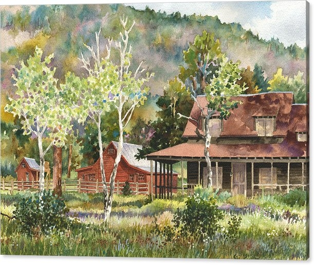 Anne Gifford - The DeLonde Homestead at ... Print