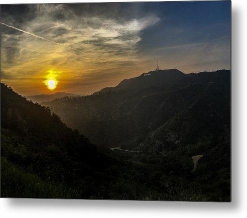 Karl Sonnenberg - Sunset Over Hollywood Print