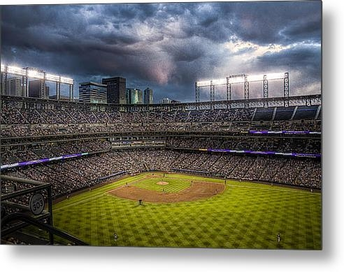 Jessica Brooks - Coors Field Mood Print