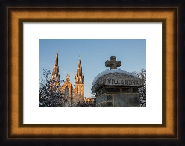Photographic Arts And Design Studio - Villanova Wall and Chapel Print