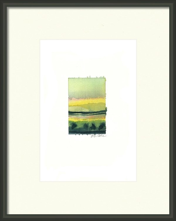 Janet Cole - Green Trees Print