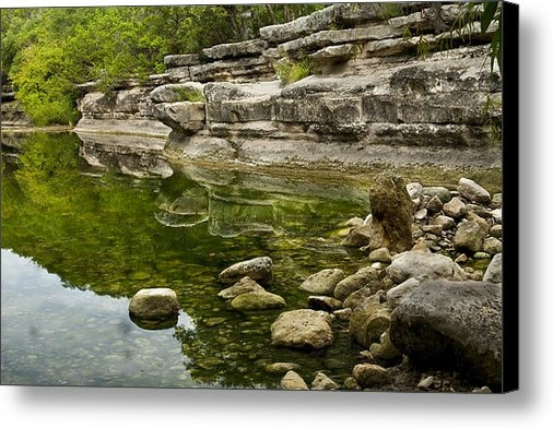 Mark Weaver - Bull Creek Print